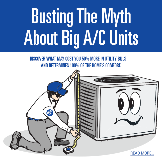 rgv, rgv new homes guide, a/c units, manual J, big a/c units not always better, is it better to buy a big a/c unit, built to save, rio grande valley, rgv new homes guide