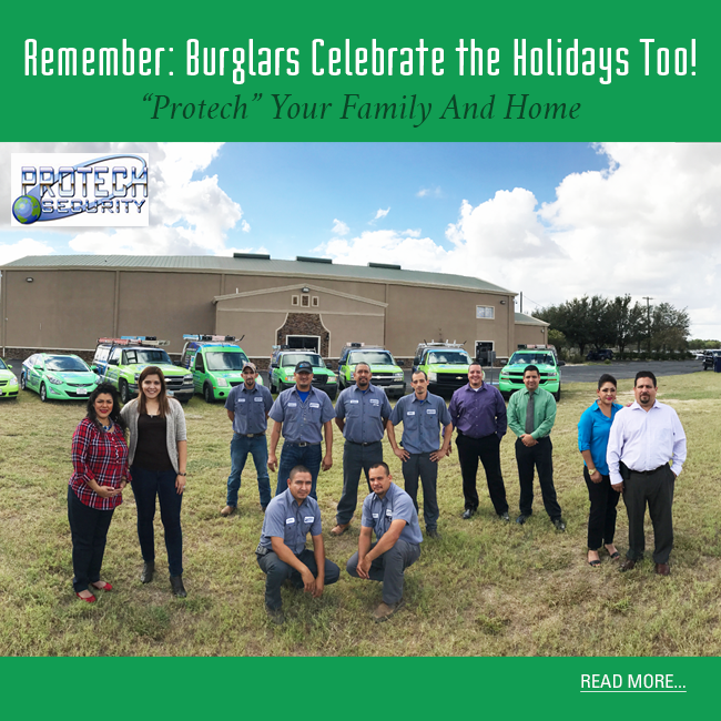 protech, rgv, rgv new homes guide, security systems, mcallen