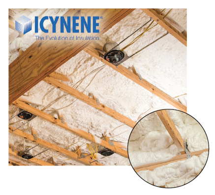 icynene, rgv, rgv new homes guide, built to save, insulation