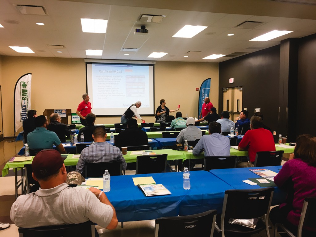 built to save, code, workshop, 2018, SPEER, MVEC, AEP, RGV builders, new homes, new home builders, blog, high performance, above code, rio grande valley, new homes guide, magazine, hers raters, mcallen, speer, rgvba