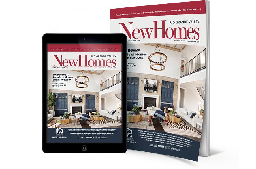 rgv, rgv new homes guide, 27v2, real estate, mcallen, mission, edinburg, weslaco, the valley, rgbva, parade of homes preview, 2019