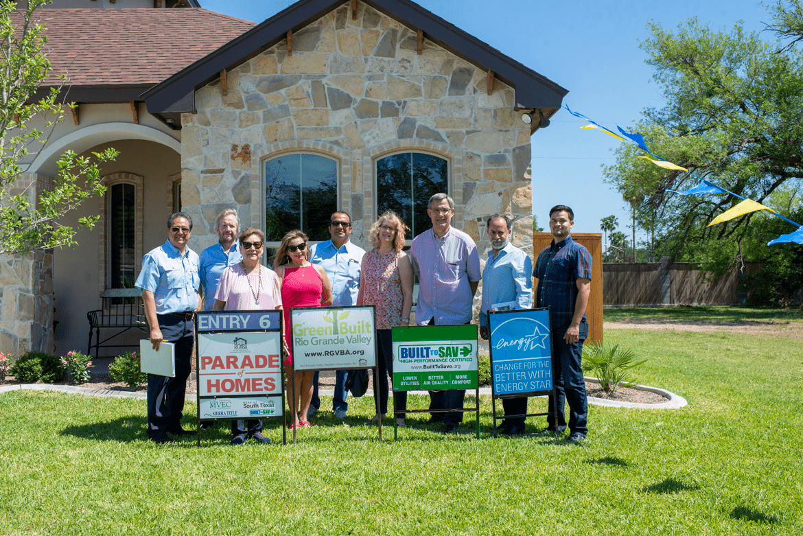 Building Professionals Judge the  RGVBA 2019 Parade of Homes