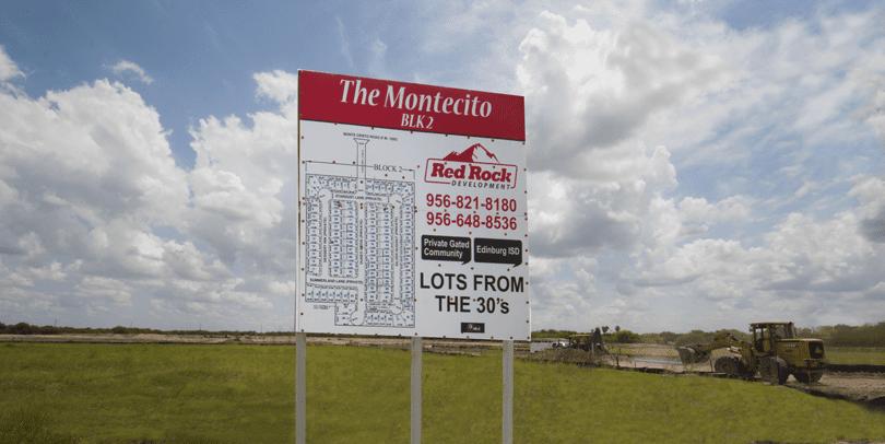 """The Montecito""–Private, Gated Community Now Selling Homesites in Edinburg"