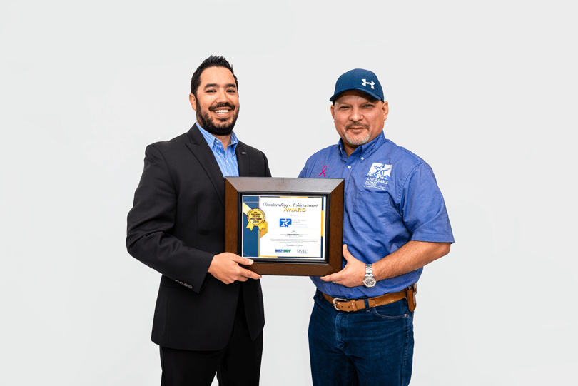 Affordable Homes of South Texas Receives Award from BUILT TO SAVE™ & MVEC in 2019