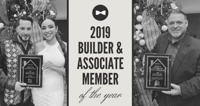 The RGVBA Presents the 2019 Builder & Associate Member of the Year Awards