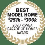 2020 parade of homes, rgv, rgvba, Waldo Homes, award winning builder