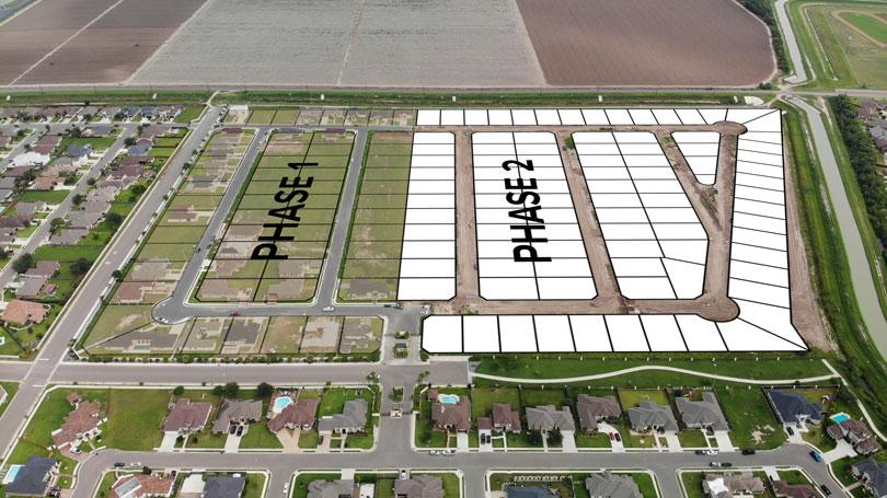 Vendome, mcallen subdivision, phase 1, phase 2, rgv builders, rgv communities, rgv subdivisions, lots for sale, North McAllen
