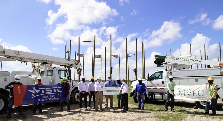 MVEC Creates Scholarship For TSTC Electrical Lineworkers Program