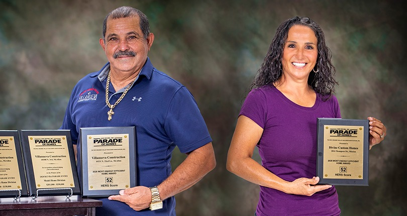 """AEP Texas Congratulates the Winners of the 2020 RGVBA Parade of Homes """"Most Energy Efficient Home"""" Awards"""