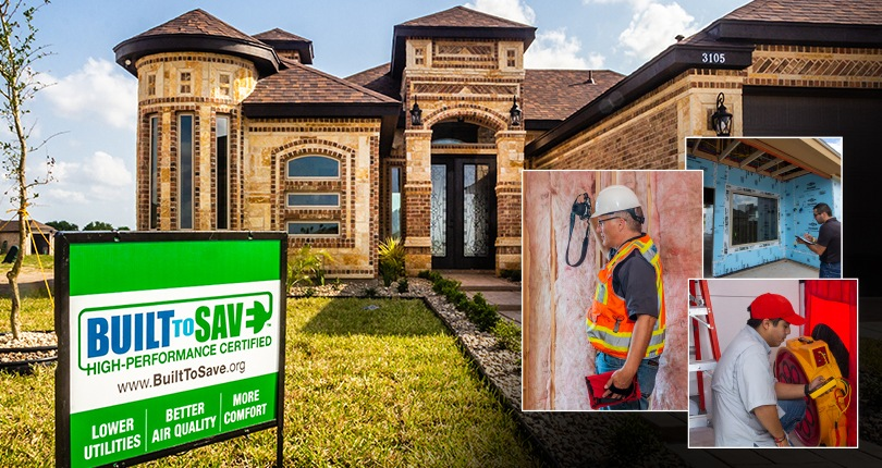 Trained to Verify High-Performance BUILT TO SAVE® Homes