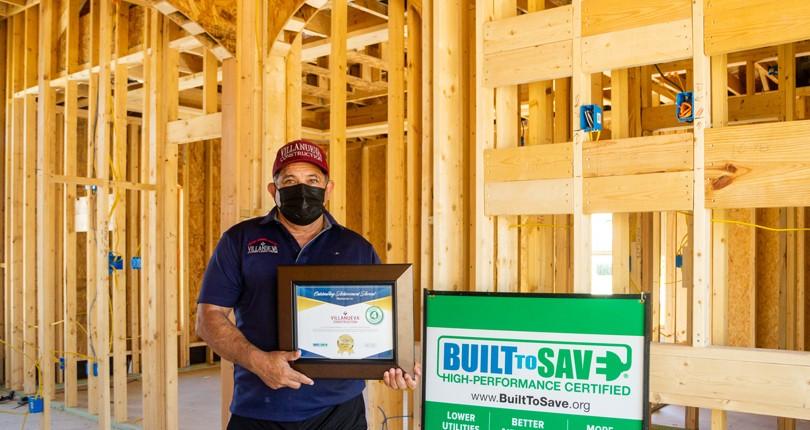 Villanueva Construction: Outstanding Achievement Award