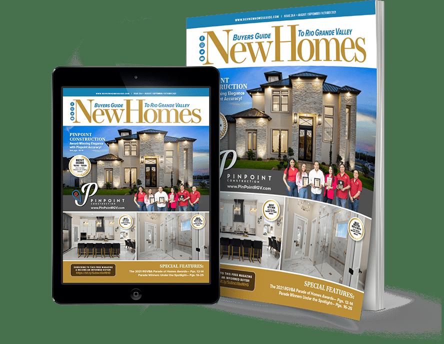 rgv, rgv new homes, rgv new homes guide, pinpoint construction, 29v4, 2021 parade of homes, spotlight